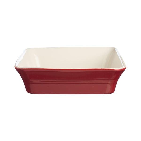 Červená kameninová forma Classic Kitchen, 26x26 cm