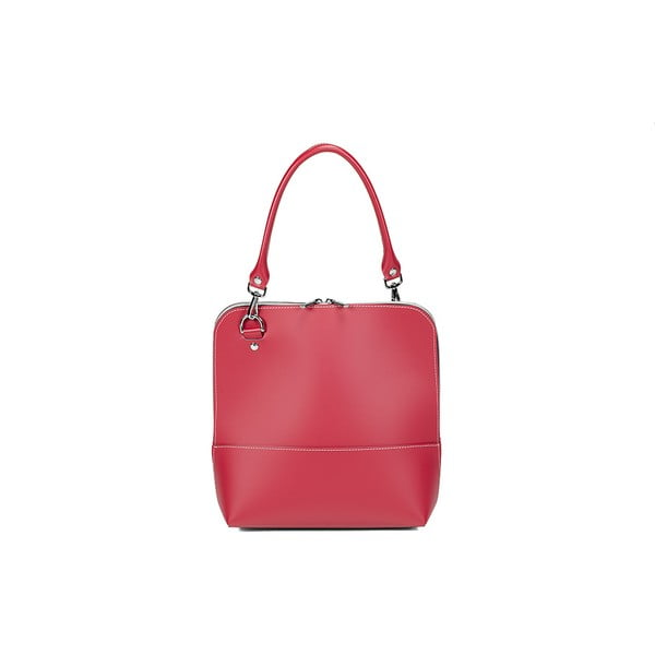 Kožená kabelka Mia Red
