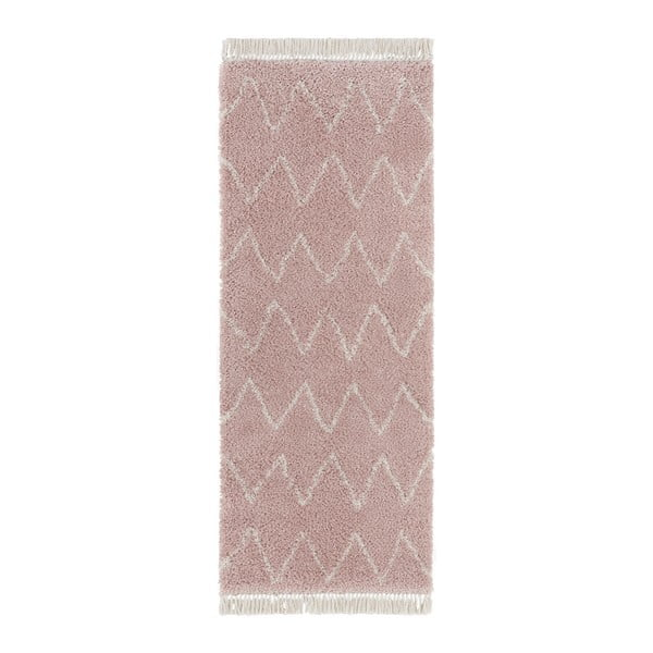 Covor Mint Rugs Rotonno, 80 x 200 cm, roz