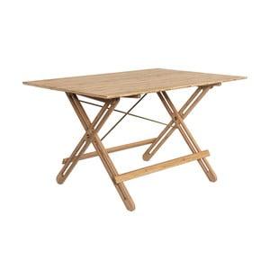 Jídelní stůl z bambusu Moso We Do Wood Field, délka130cm