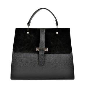 Černá kožená kabelka Renata Corsi Tarreno