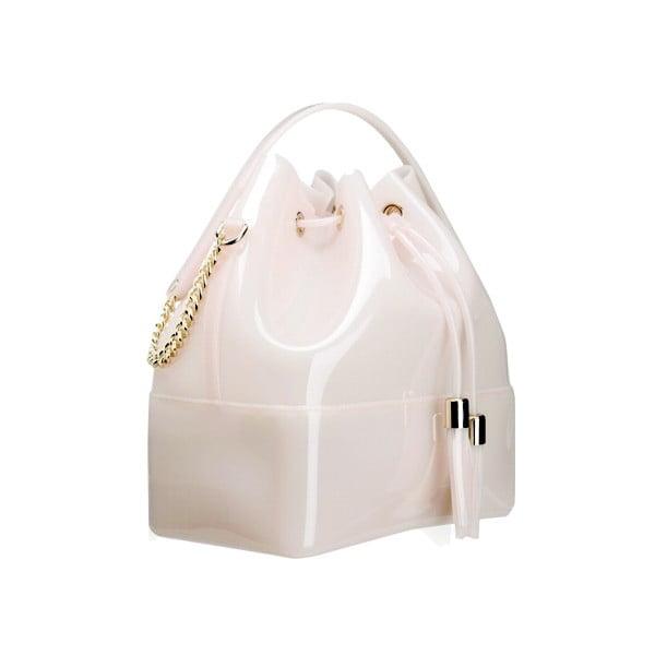 Bílá plastová kabelka Kartell Grace K
