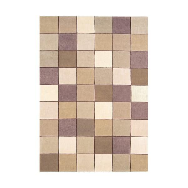 Koberec Asiatic Carpets Eden Pixel Beige, 60x120 cm