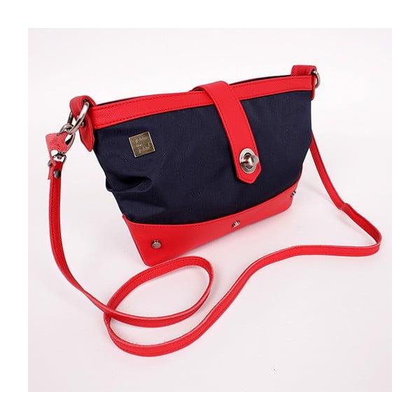 Malá kabelka Javier, modročervená