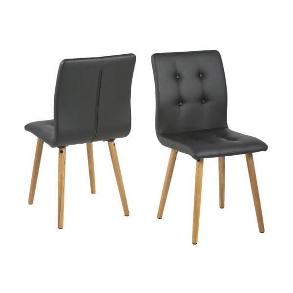 Jídelní židle Frida, černá