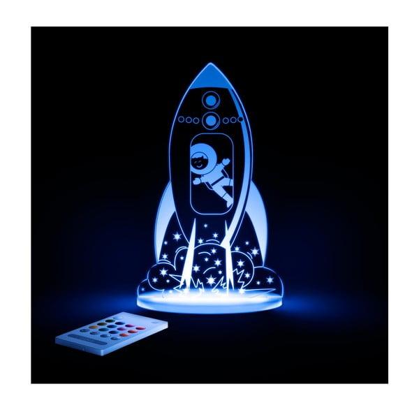 Dziecięca lampa nocna LED Aloka Rakieta