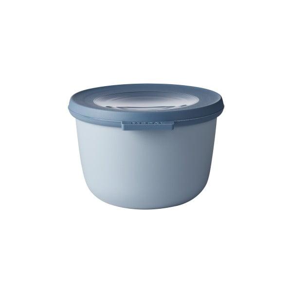 Niebieska miska z wieczkiem Rosti Mepal Nordic, 500 ml