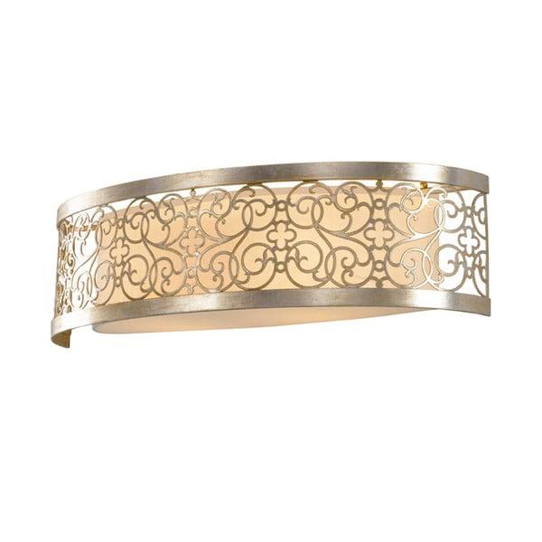 Nástěnné světlo Arabesque Two Silver
