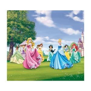 Foto závěs AG Design Disney Princezny II, 160x180cm