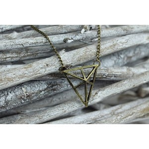 Náhrdelník Geometric Triangle