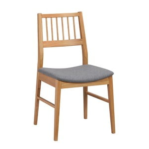 Set 2 scaune din lemn de stejar  Folke Dan, culoare naturală