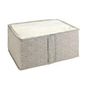 Béžový úložný box Wenko Balance, 40 x 30 x 20 cm
