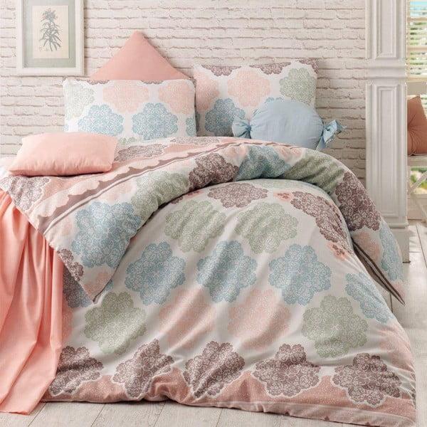 Lenjerie de pat cu cearșaf Andalucia, 200x220cm