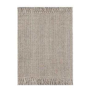 Jutový koberec Surface Silver, 130x190 cm