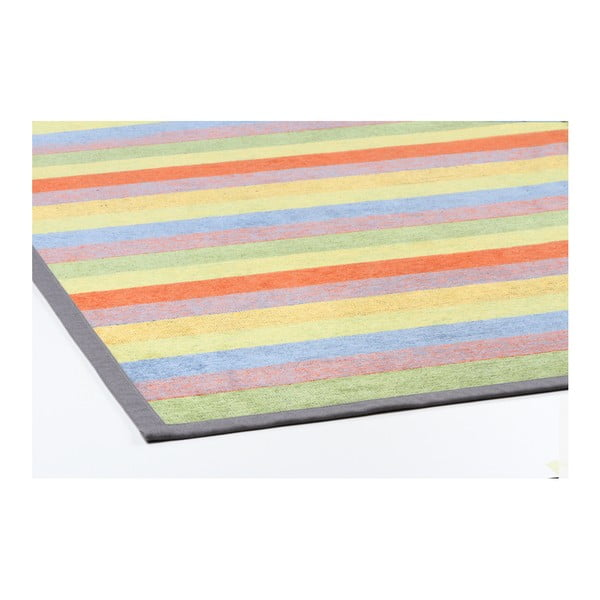 Barevný vzorovaný oboustranný koberec Narma Pallika, 70x140cm