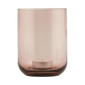 Svícen Vintage Pink