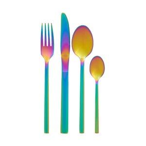 Set de 16 tacâmuri cu efect de curcubeu Premier Housewares Rainbow