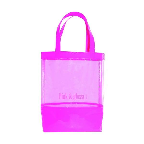 Taška přes rameno Incidence Pink & Glossy