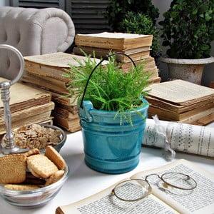 Keramický květináč/váza Milano Turquise