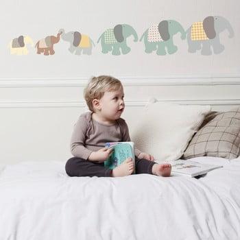 Autocolant Art For Kids Elephant Family