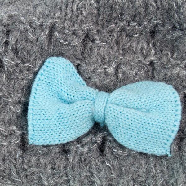 Čepice Bow Blue