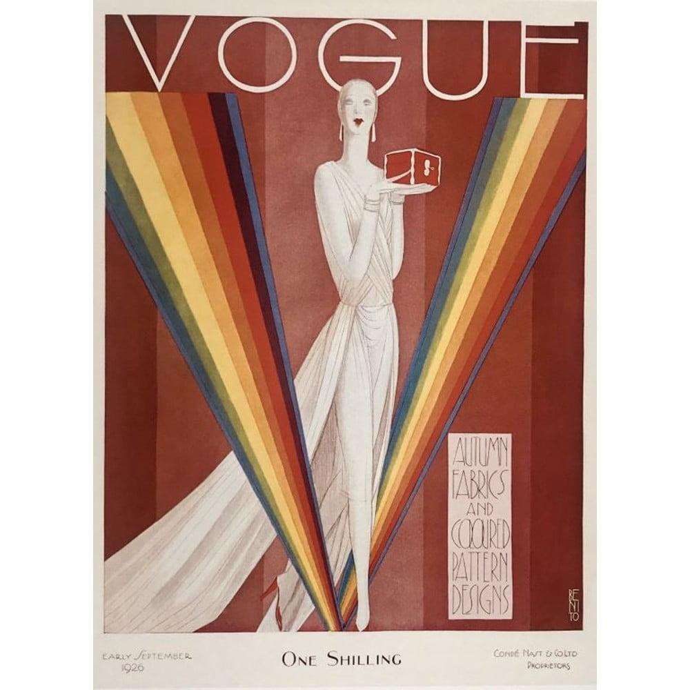 Plakát Blue-Shaker Vogue 4, 30 x 40 cm