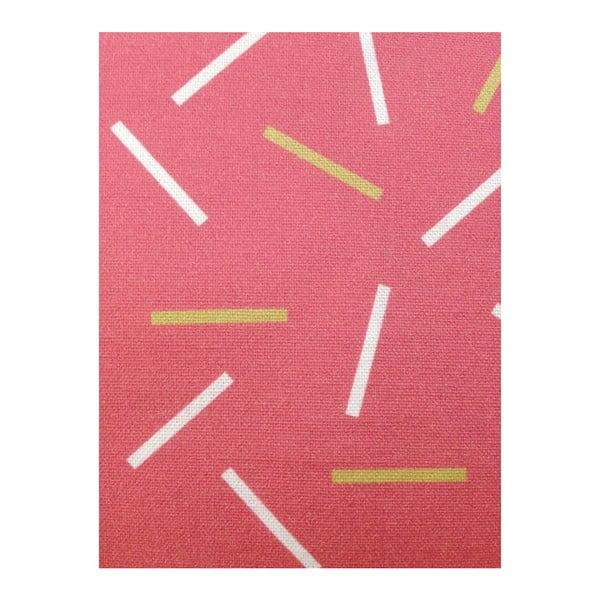 Polštář s výplní Matches Pink, 45x45 cm