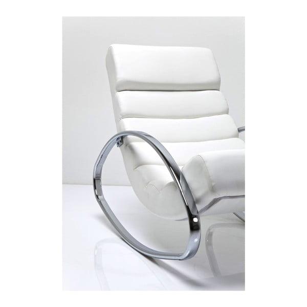 Bílé houpací křeslo Kare Design Manhattan