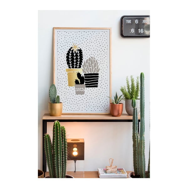 Obraz Really Nice Things Cactus Family, 40 x 60 cm