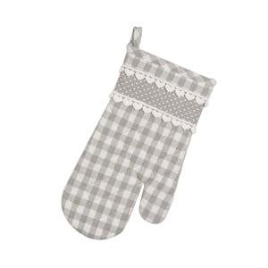 Kuchyňská rukavice Basic Hearts, šedá