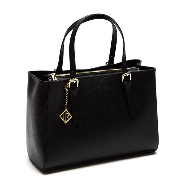 Kožená kabelka Isabella Rhea 441, černá