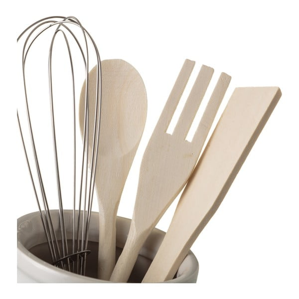 Kameninová nádoba s kuchyňskými nástroji Unimasa Urban