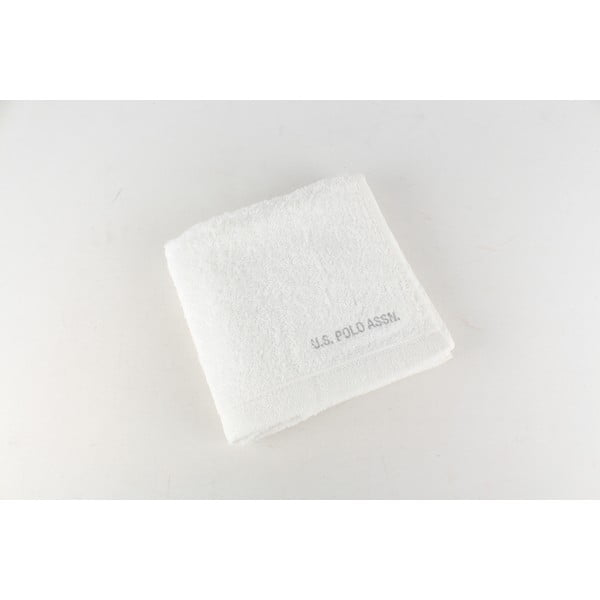 Ručník US Polo Hand Towel White, 50x90 cm