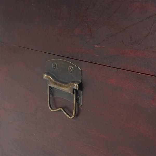 Truhla Shabby Antibes, 24x46x23 cm