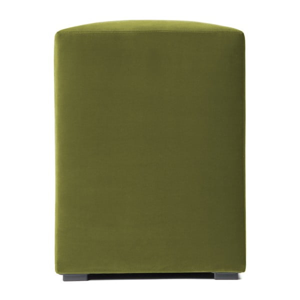 Olivově zelený puf Vivonita Gisele