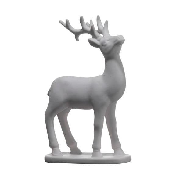 Set dvou keramických jelenů, 19x11 cm