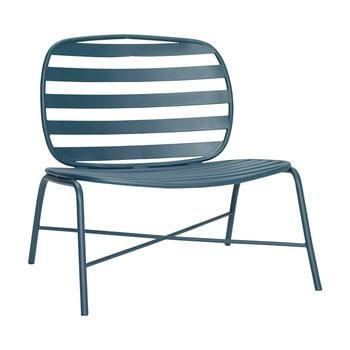 Fotoliu din fier Hübsch Lounge Chair, verde imagine