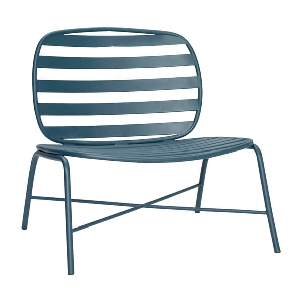 Zelené železné křeslo Hübsch Lounge Chair