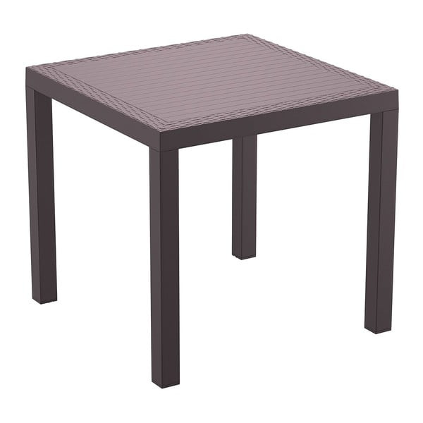Stůl Orlando 80, hnědý