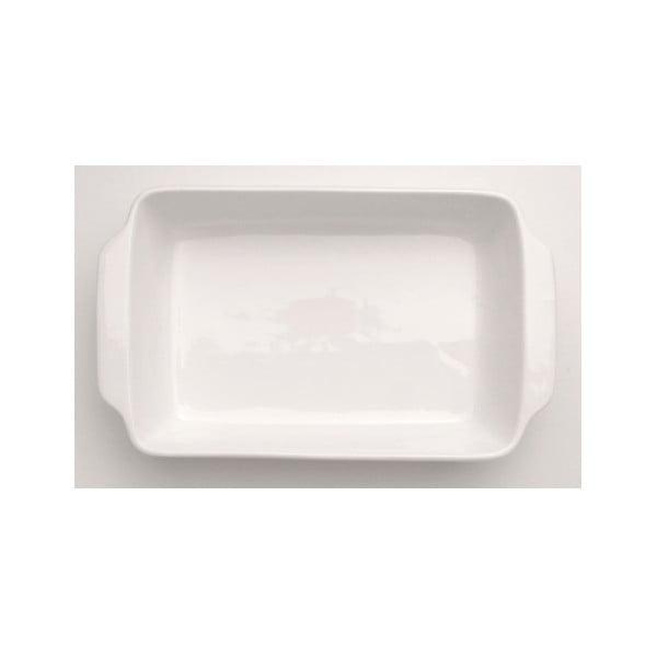 Bílá kameninová zapékací mísa BergHOFF Bianco, 31 x 26 cm