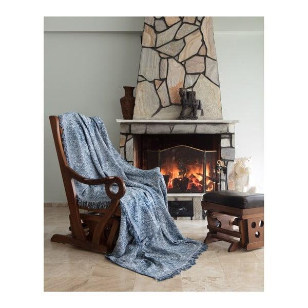Pătură Cover Lurisso, 170 x 220 cm, albastru
