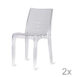 Sada 2 jídelních židlí Evergreen House Quadri