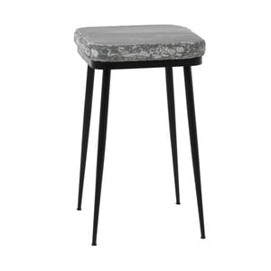 Odkládací stolek se světle šedou mramorovou deskou Fuhrhome Naples