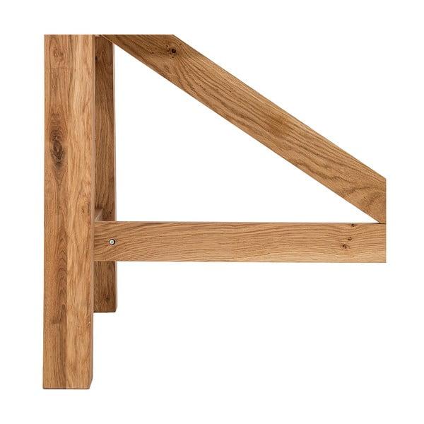 Jídelní stůl Idallia Oak, 180x90 cm