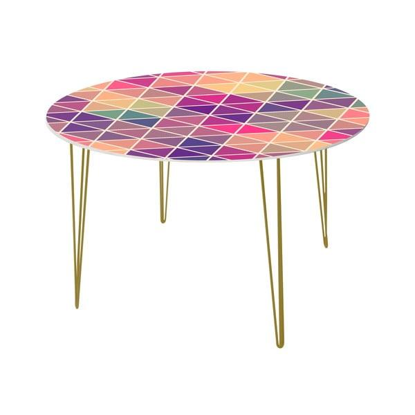 Jídelní stůl Triangle Puzzle, 120 cm