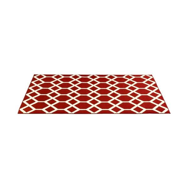 Červený koberec Velour, 200x290 cm