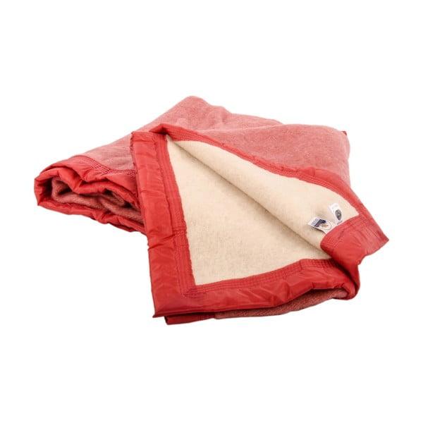 Vlněná deka Sarazzi Rose, 150x220 cm