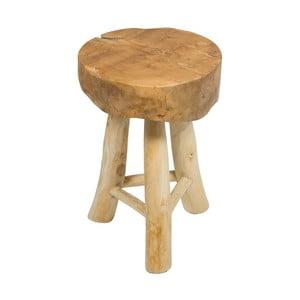 Stolička z týkového dřeva Santiago Pons Milan