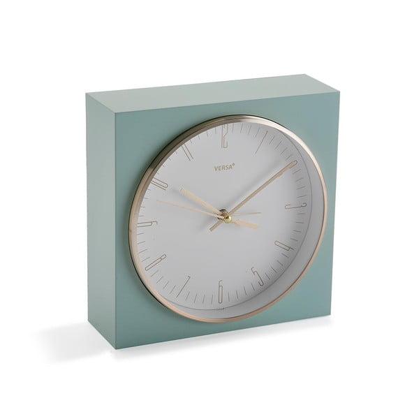 Jasnozielony zegar stołowy Versa Mint