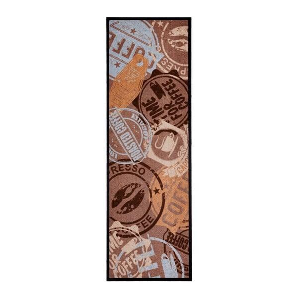 Coffee Stamp banra konyhai futószőnyeg, 50 x 150 cm - Zala Living